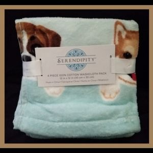 Serendipity Dogs Washcloth Pack